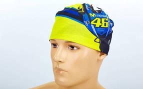 Бандана Бафф (BUFF) MOVISTAR 46 MS-5524-6 (полиэстер микрофибра, синий-желтый)