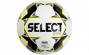 Мяч футзальный №4 SELECT FUTSAL Z-MASTER-WBK (белый-черный-желтый)