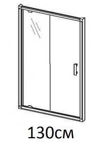 Душові двері 130см