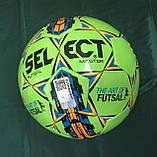 Мяч для футзала (мини-футбола) SELECT MASTER (размер 4), фото 8