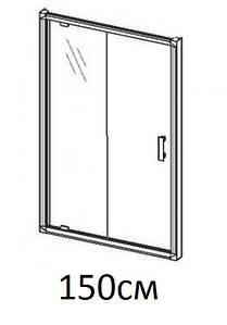 Душові двері 150см