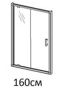 Душові двері 160см