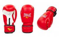 Уценка_Перчатки боксерские PVC ELAST U-MA-5018-R(12) (р-р 12oz, красный)