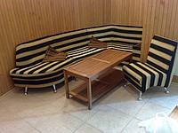 Изготовление мягкой мебели для сауны