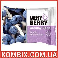 "Creamy Soap Acai & Amaranth oil / Крем-мыло ""Асаи и масло амаранта"" (100 грамм)"