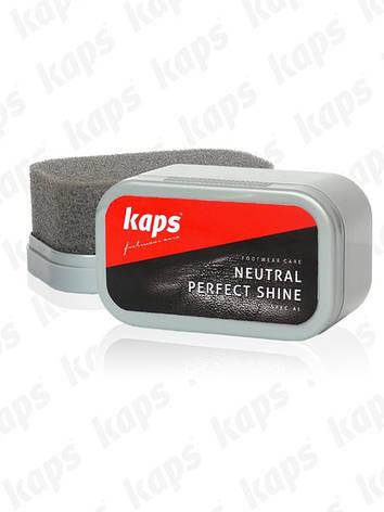 Бесцветная губка для чистки обуви NEUTRAL PERFECT SHINE 020100, фото 2