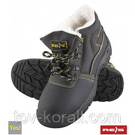 Ботинки зимние на меху Reis YES! черные