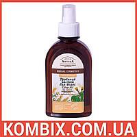 Травяной настой для волос Сбор №1 для ломких, поврежденных и окрашенных волос (250 мл)