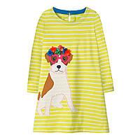 Платье для девочки Милый пес Jumping Meters