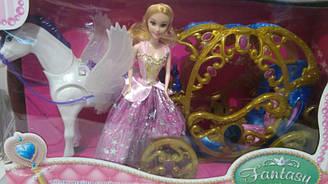 Карета с куклой 245А
