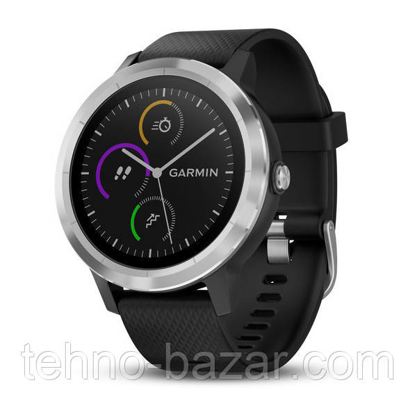 Умные часы Smart Watch Garmin Vivoactive 3 Black/Silver