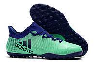 Футбольные сороконожки adidas X Tango 17.3 TF Aero Green/Unity Ink/Hi-Res Green, фото 1