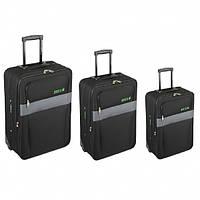 Комплект чемоданов Skyflite Domino Black (S/M/L) 3шт