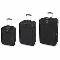 Комплект чемоданов Gabol Loira Black (S/M/L) 3шт 116501-001