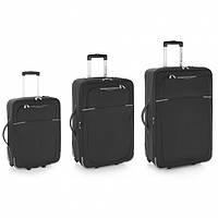 Комплект чемоданов Gabol Malasia Black (S/M/L) 3шт 113301-001