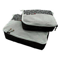 Чехол для одежды Caribee Packing Cubes Black 2шт