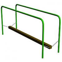 Игровой элемент Бревно подвесное - элемент детской площадки.