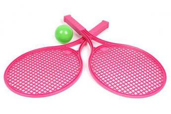 Детский набор для игры в теннис ТехноК (розовый) 0380