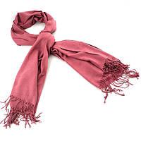 Турецкий шарф пашмина розовый