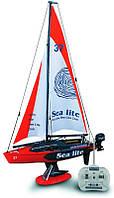Яхта 'Лёгкое море'  на радиоуправлении с мотором 1:25 Golden Bright