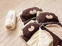 Мишка -детский спальник-слипик