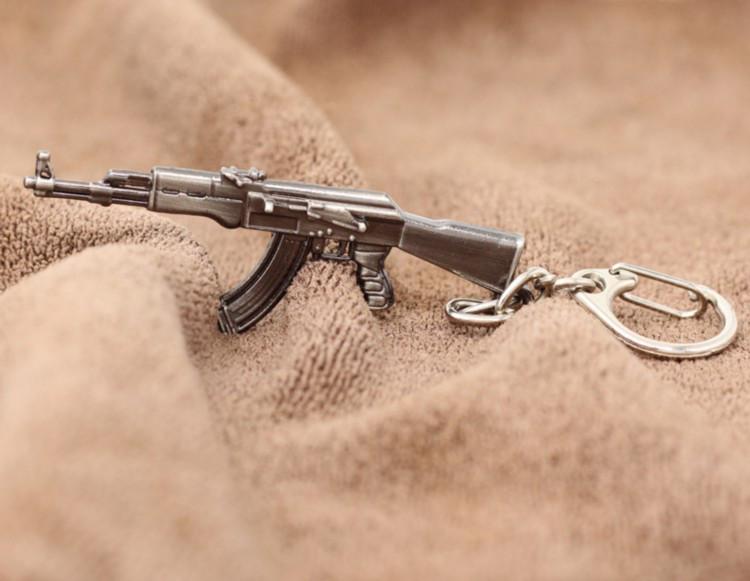 """Металевий брелок для чоловіка """"АК-47""""!"""