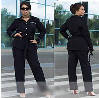 Костюм женский рубашка с брюками, с 50-60 размер, фото 1
