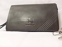 Барсетка клатч мужская Gorangd 9913-2 черная, фото 1