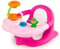 Стульчик для купания Cotoons с игровой панелью, розовый, Smoby Toys (110616)
