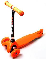 Самокат детский Micro Mini, оранжевый