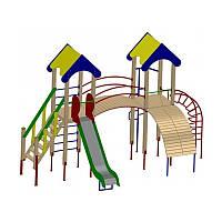 Детские площадки Башня-2 длиной 590см