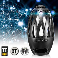 Портативная колонка Flame Atmosphere Wireless Speaker BTS-596 Хит продаж!