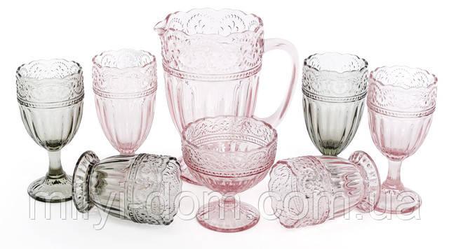 Поступление НОВЫХ модных цветных стеклянных бокалов и стаканов