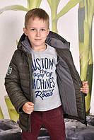 Стильная зимняя куртка для мальчика подростка