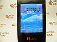 Мобильный телефон раскладушка Dsfen V1 6800mAh двухсимочная раскладушка Vertu Gucci, фото 4