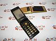 Мобильный телефон раскладушка Dsfen V1 6800mAh двухсимочная раскладушка Vertu Gucci, фото 2