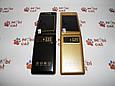 Мобильный телефон раскладушка Dsfen V1 6800mAh двухсимочная раскладушка Vertu Gucci, фото 5