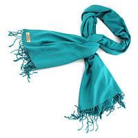 Турецкий шарф пашмина Бирюза