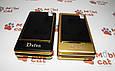 Мобильный телефон раскладушка Dsfen V1 6800mAh двухсимочная раскладушка Vertu Gucci, фото 8