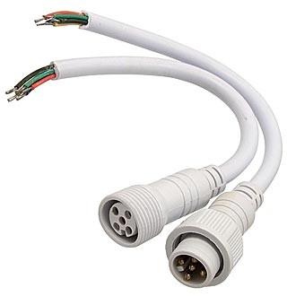 Dilux - Комплект соединительный кабель WP Cable 5pin Mother + Father , Папа + Мама