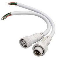 Dilux - Комплект соединительный кабель WP Cable 5pin (2 jack) Mother + Father , Папа + Мама