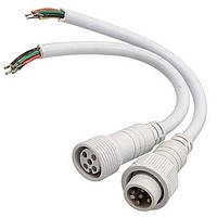 Dilux - Комплект з'єднувальний кабель WP Cable 5pin Mother + Father , Папа + Мама