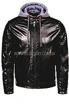 Мужская черная куртка Glo-Story , фото 3