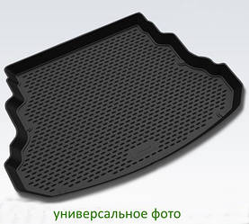 Коврик в багажник для Opel Zafira 2012-> мв. длин. 5/7 мест. (полиуретан)  CAROPL00034