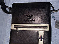 Мужская сумка Giorgio Armani 9149-2 черная, фото 1