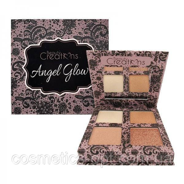 Палетка хайлайтеров Beauty Creations Angel Glow Highlighter Palette (реплика)