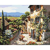 "Картина по номерам - Пейзаж ""Пейзажи Тосканы"" 40х50см"