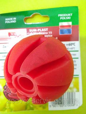 Мяч спиральный резиновый №1 4 см с ароматом ванилиСам-Пласт, фото 2