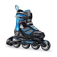 Роликовые коньки Rollerblade SPITFIRE Black/Blue 33-36,5, фото 1