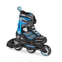 Роликовые коньки Rollerblade SPITFIRE Black/Blue 28-32